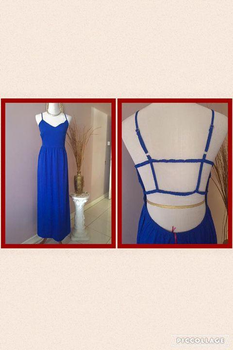 Colbalt Blue Maxi- Size: 8