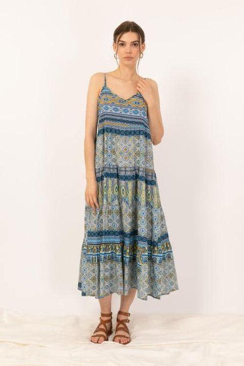 Il va faire très chaud.Dès robe légère en voile de cotonDisponible au magasin au chardon.