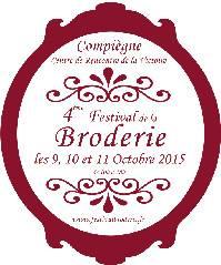 Un superbe salon à ne pas manquer ! : le 4ème Festival de la Broderie à Compiègne. C'est ce week end (vendredi, samedi e...