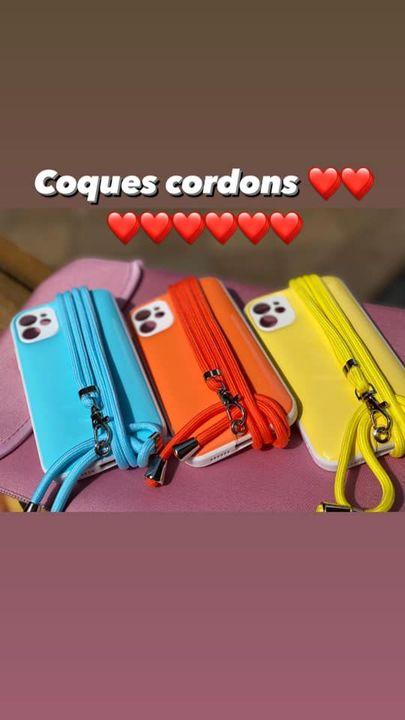 Flap Store 14, rue Victor Hugo 69002  Lyon . Les cordons peuvent se vendre seul et s'adapter sur toutes sortes de coque...