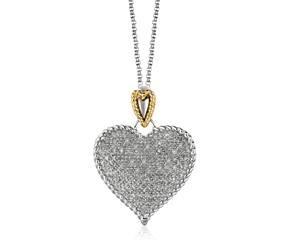 #forher #valentines #heart #sterlingsilver #silverpendant