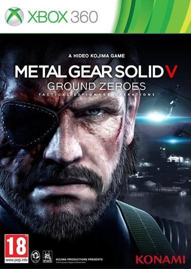 Metal Gear Solid V: Ground Zeroes Final Box Art.