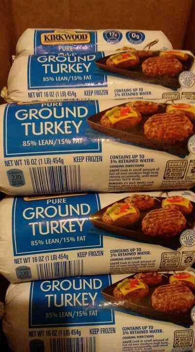 Ground Turkey by Kirkwood 1 Lbs.