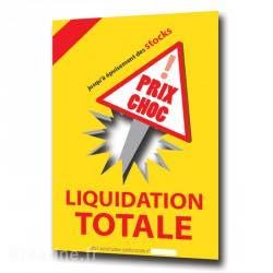 A partir d'aujourd'hui : LIQUIDATION TOTALE DU STOCK!Prix spéciaux à prtir de 50%!