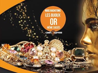 Cash Express rachète vos bijoux même cassés.😊